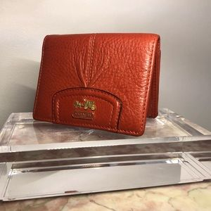 46606 Coach Madison Leather Small Wallet